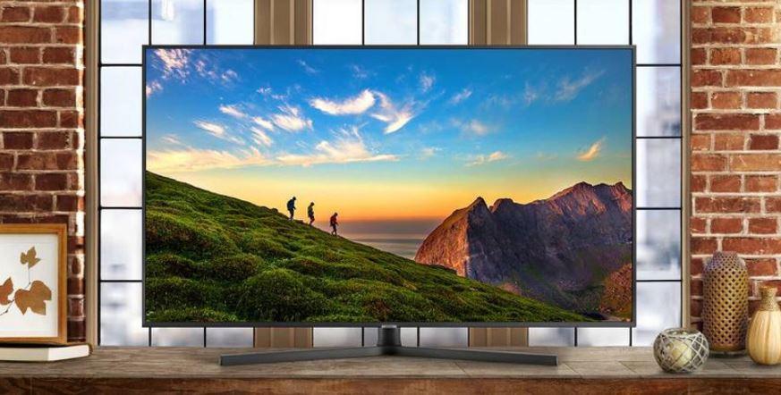 Телевизор с разрешением экрана 4К