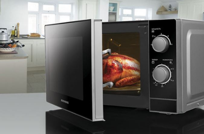 Микроволновая печь с механическим типом управления