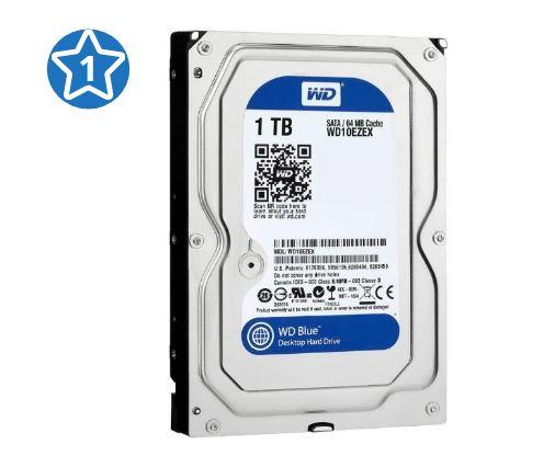 Жесткий диск WD Blue WD10EZEX 1 ТБ
