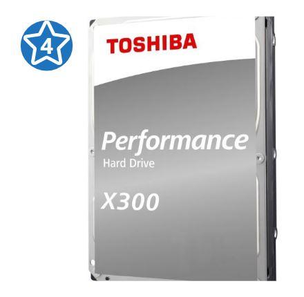 Жесткий диск Toshiba X300 HDWE140EZSTA