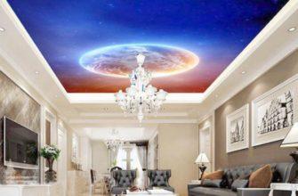 Какой натяжной потолок выбрать: глянцевый или матовый