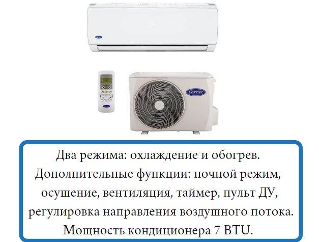 Настенная сплит-система Samsung Carrier 42QHA007N/38QHA007N