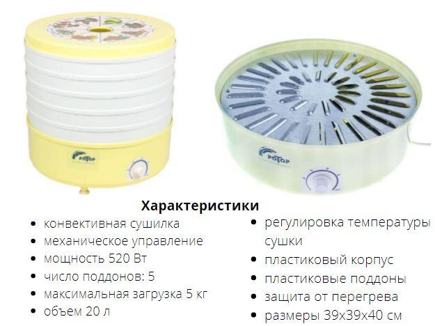 Сушилка Ротор СШ-002