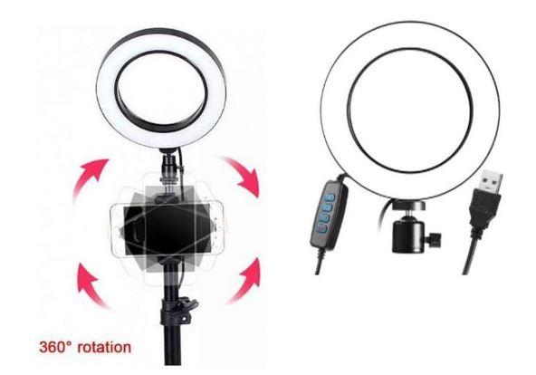 Кольцевая лампа Circle LED Lamp
