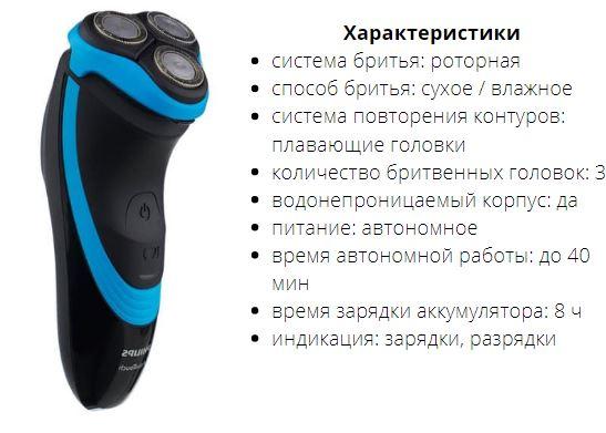 Электробритва Philips AT750 AquaTouch