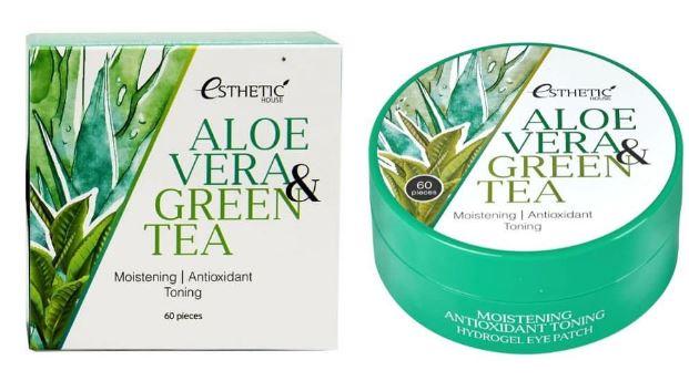 Aloe Vera & Green Tea Hydrogel Eye Patch