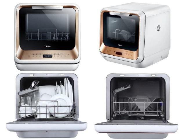 Посудомоечная машина Midea MCFD42900 G MINI цена от 21490 рублей