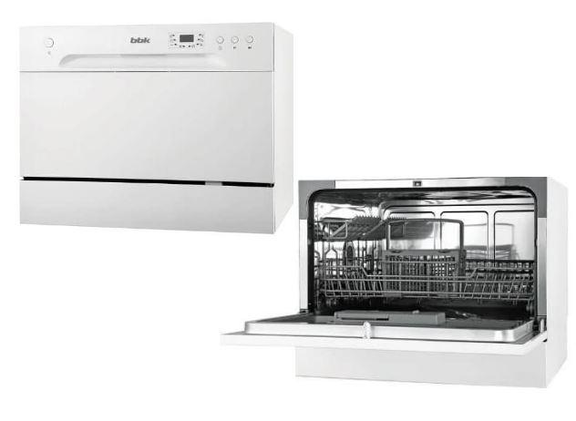 Посудомоечная машина BBK 55-DW012D цена от 16850 рублей