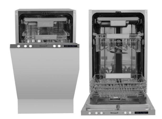 Встраиваемая посудомоечная машина Weissgauff BDW 4533 D цена от 30990 рублей