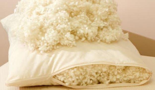 Подушка с наполнителем из овечьей шерсти